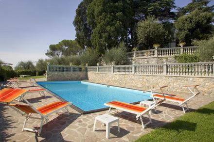 The swimming pool at or near Villa Maria Hotel