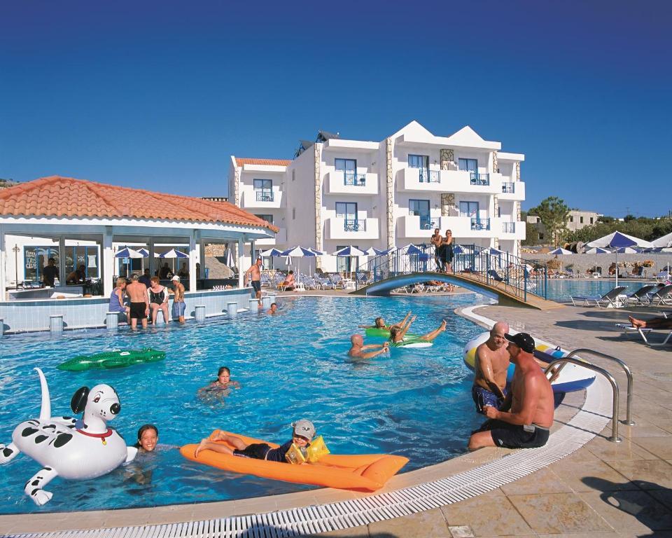 The swimming pool at or near Lindia Thalassa