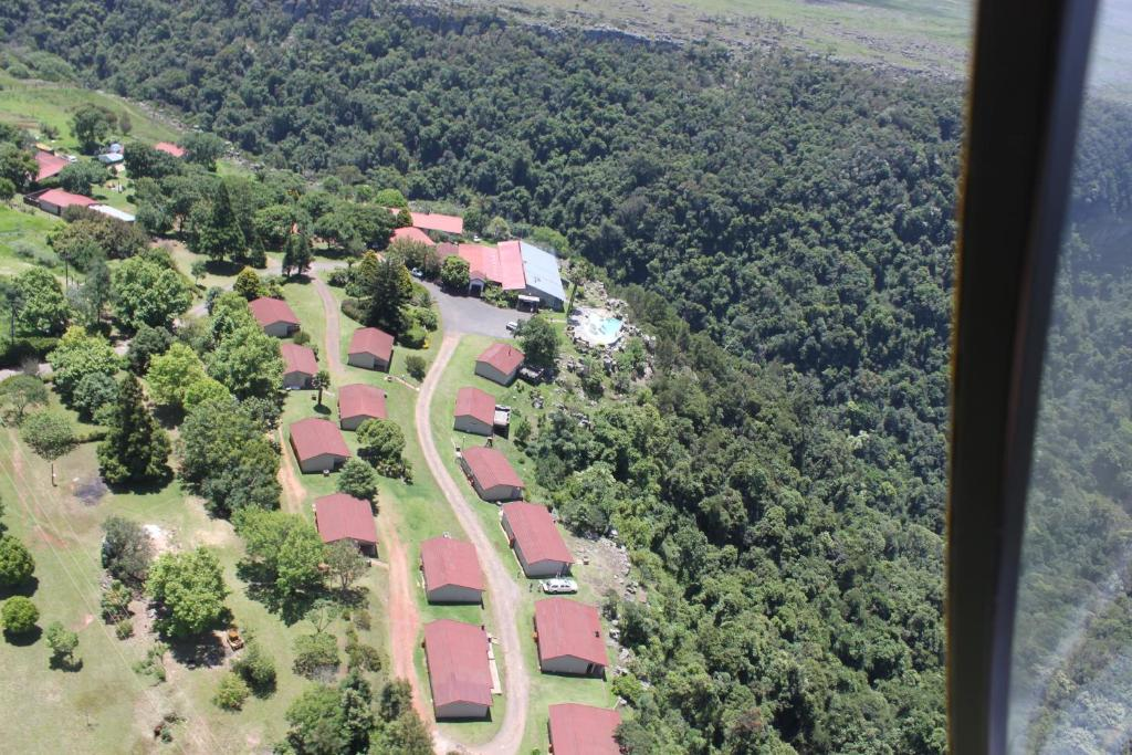 A bird's-eye view of Panorama Chalets & Rest Camp