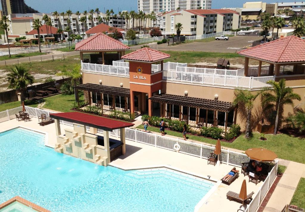 A view of the pool at La Isla South Padre Residences or nearby