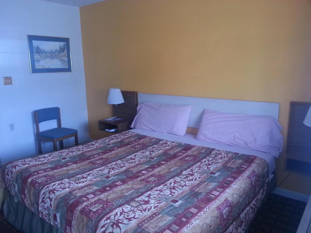 A room at XIT Ranch Motel