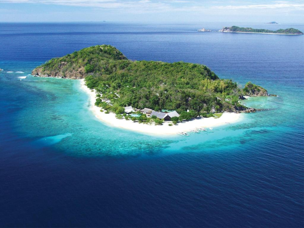A bird's-eye view of Club Paradise Resort Palawan