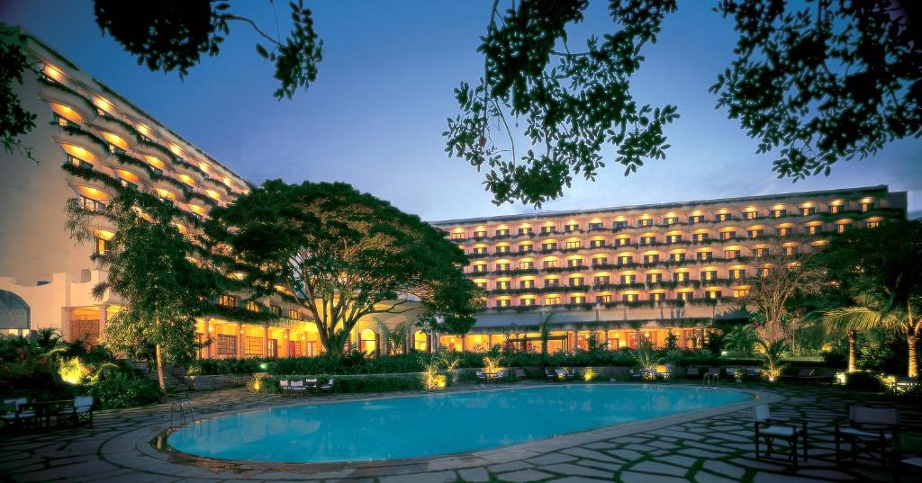 The swimming pool at or near The Oberoi Bengaluru