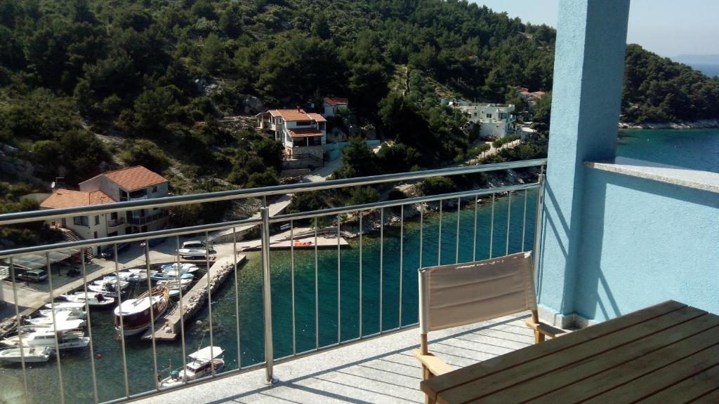 A balcony or terrace at Apartments Bedene