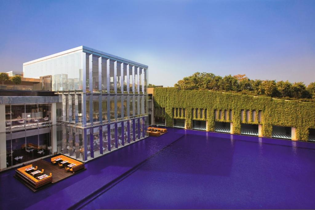 The swimming pool at or near The Oberoi Gurgaon