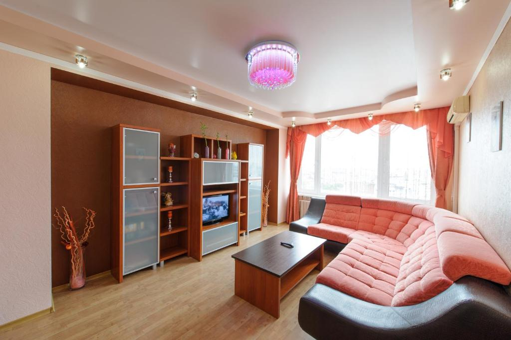 A seating area at Nice Flats Noviy Arbat