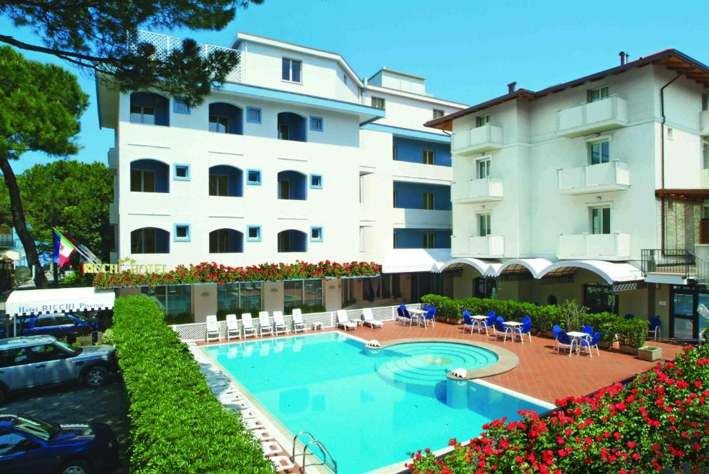 Hotel Ricchi Rimini, Italy