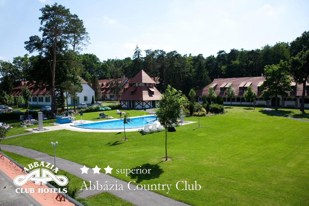 A view of the pool at Abbazia Country Club superior or nearby
