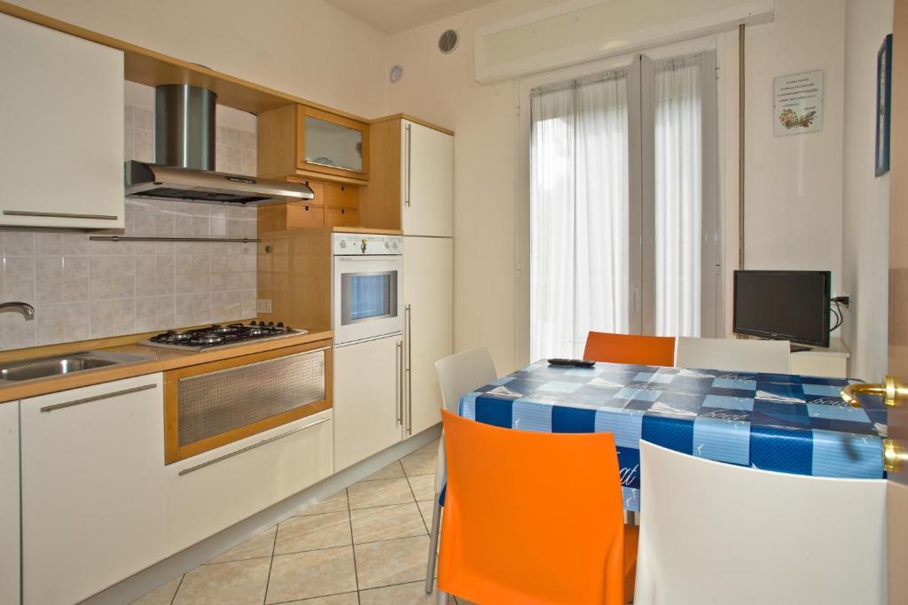 Cucina o angolo cottura di Villa Hanna