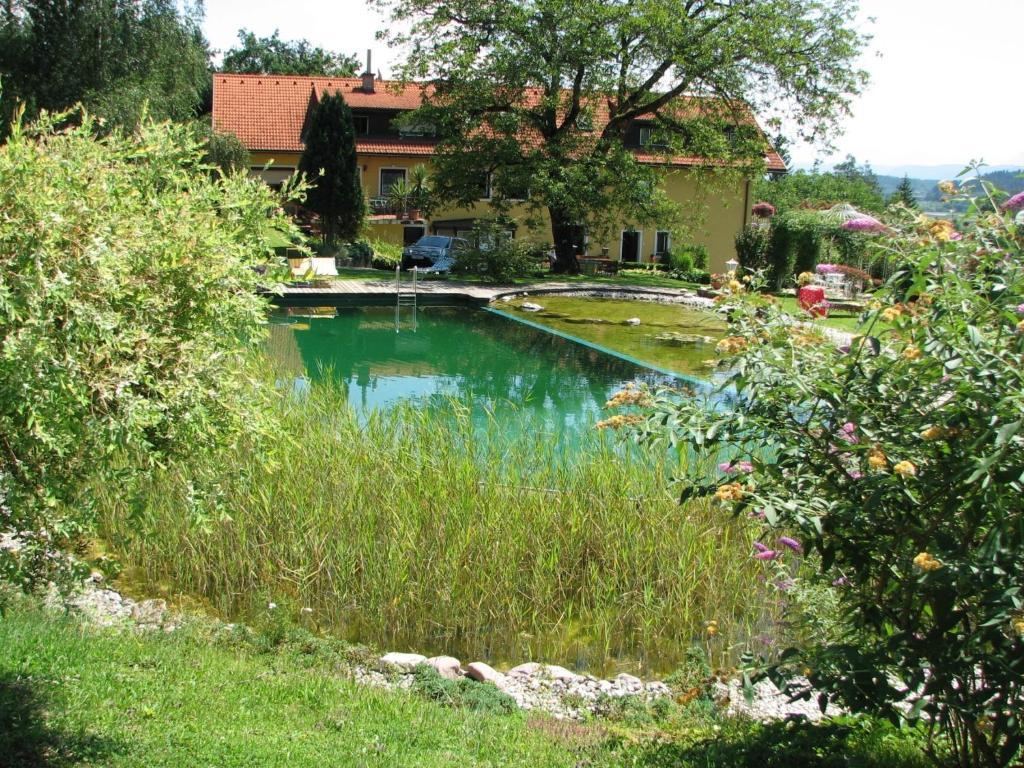 The swimming pool at or near Ferienwohnungen Kremsbrucker