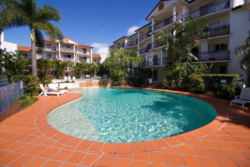 The swimming pool at or near Blue Water Bay Villas