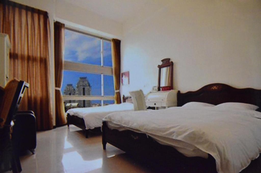 淡水藍色水岸淡水海景旅店