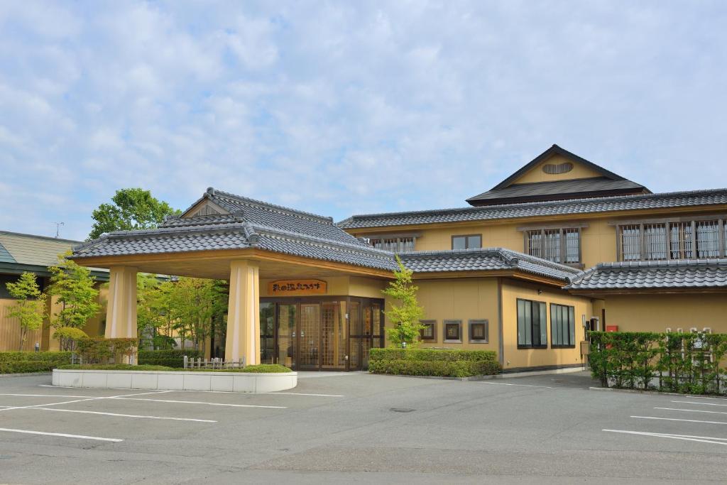 Das Gebäude in dem sich das Ryokan befindet