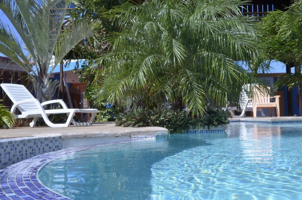 A piscina localizada em Nos Krusero Apartments ou nos arredores