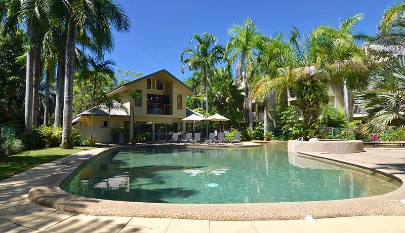 The swimming pool at or near Port Douglas Sands Resort