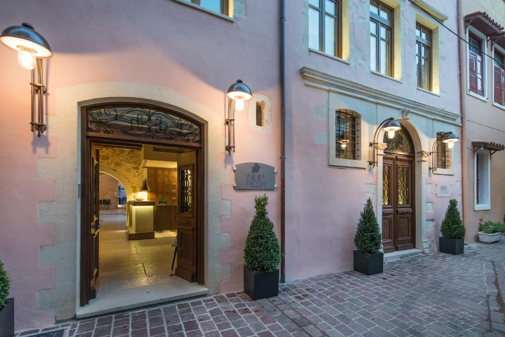 The facade or entrance of Serenissima Boutique Hotel