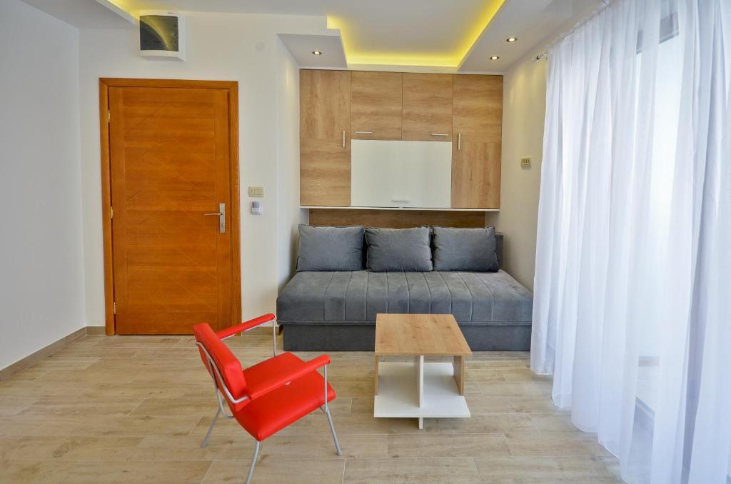 Гостиная зона в Gospostina Apartment