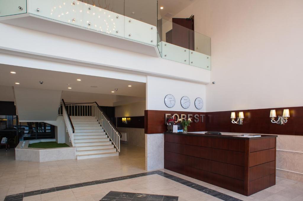 Лобби или стойка регистрации в Отель Форест