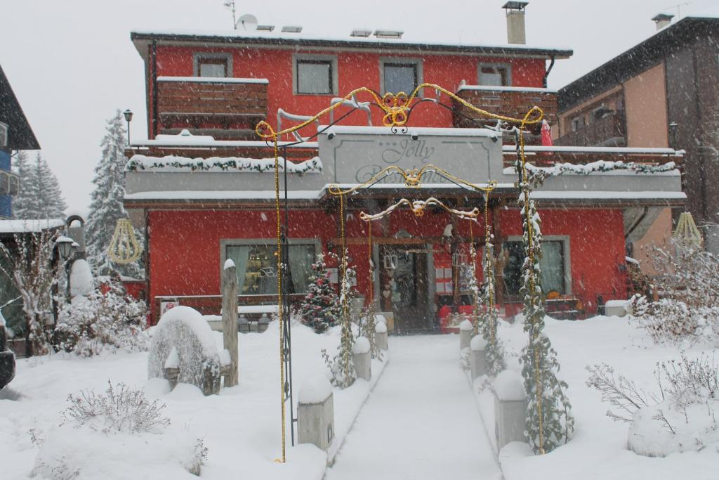 Jolly Residence durante l'inverno