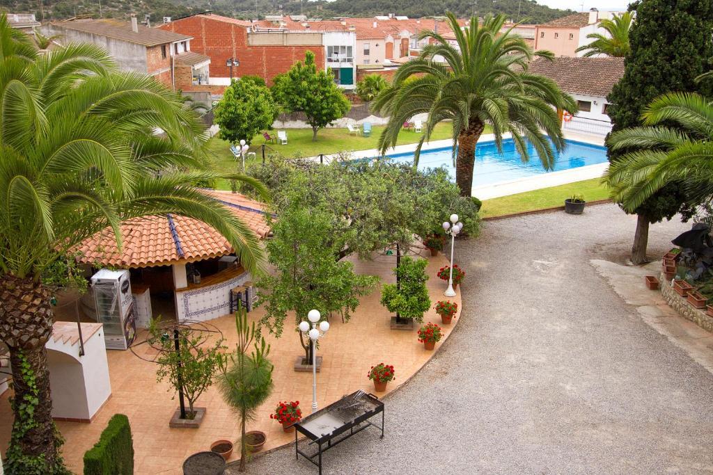 Vista de la piscina de Hotel Antiga o alrededores