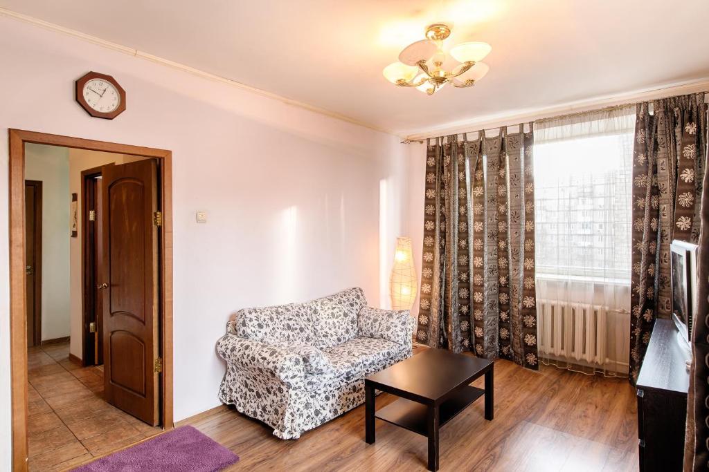 Гостиная зона в City Inn Апартаменты Белорусская