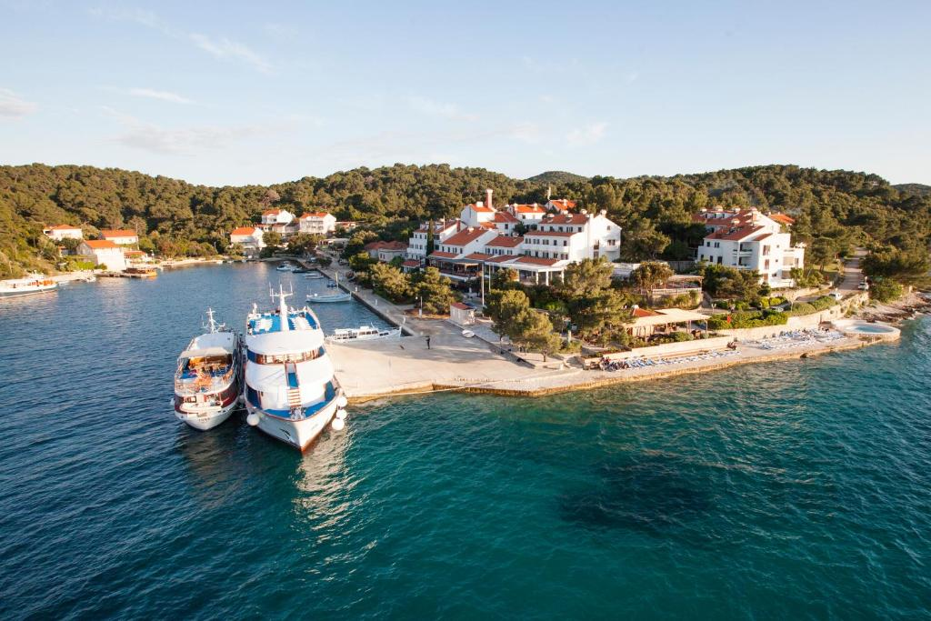 A bird's-eye view of Hotel Odisej