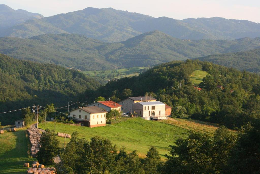 A bird's-eye view of Agriturismo Il Cielo Di Strela