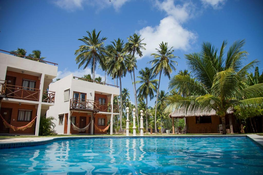 The swimming pool at or close to Pousada Humaitá