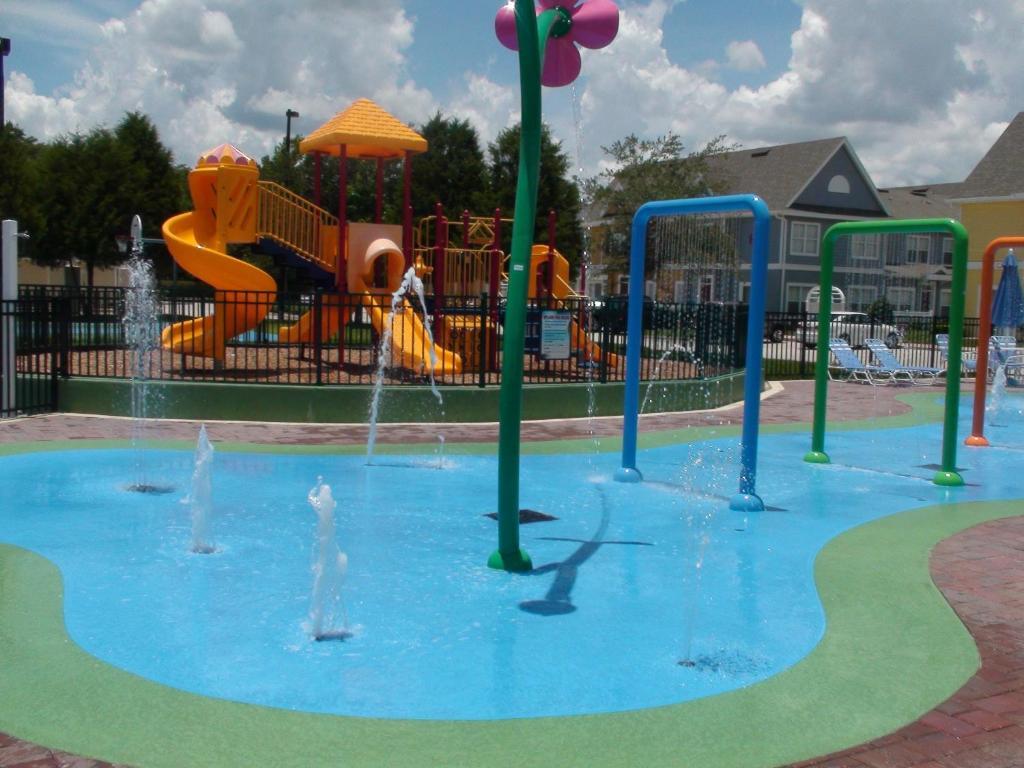 Children's play area at Villas at Seven Dwarfs Lane Resort