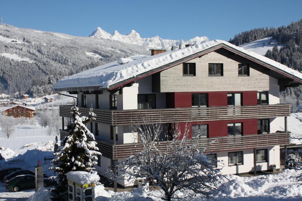 Jugendsporthotel Bachlehen und Johanneshof during the winter