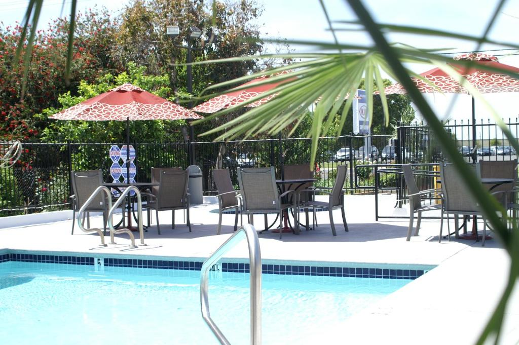 The swimming pool at or close to Regency Inn