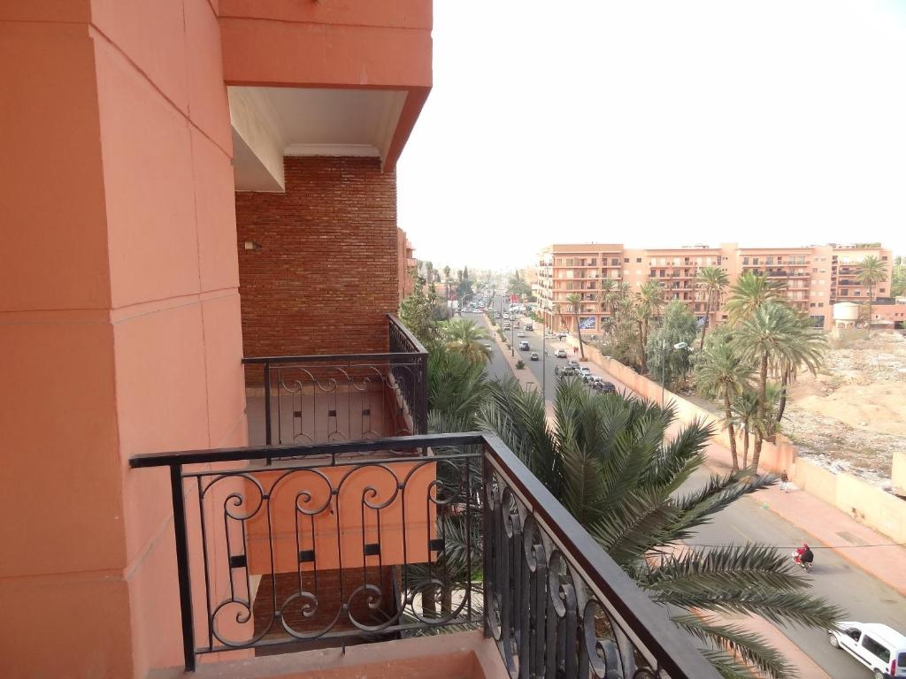 A balcony or terrace at MCL Majorelle Appartement