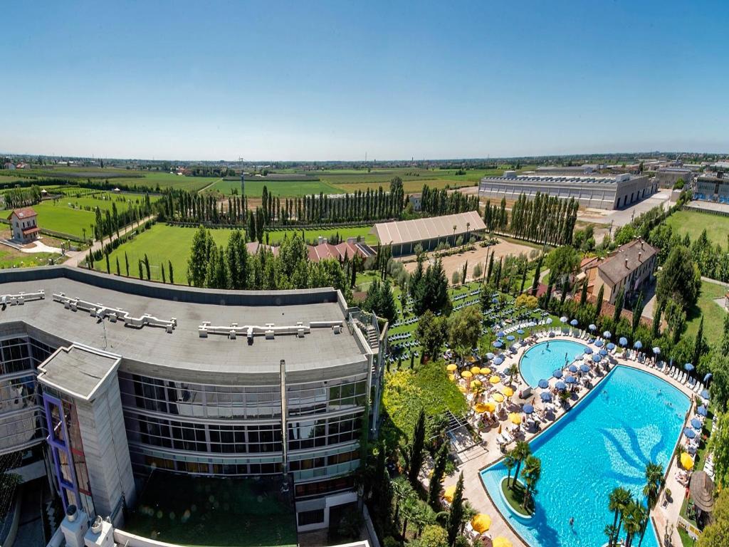 Vista aerea di Hotel Antares Sport Beauty & Wellness