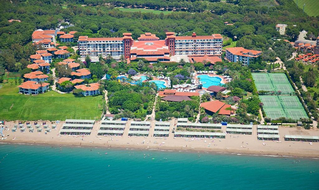 A bird's-eye view of Belconti Resort Hotel