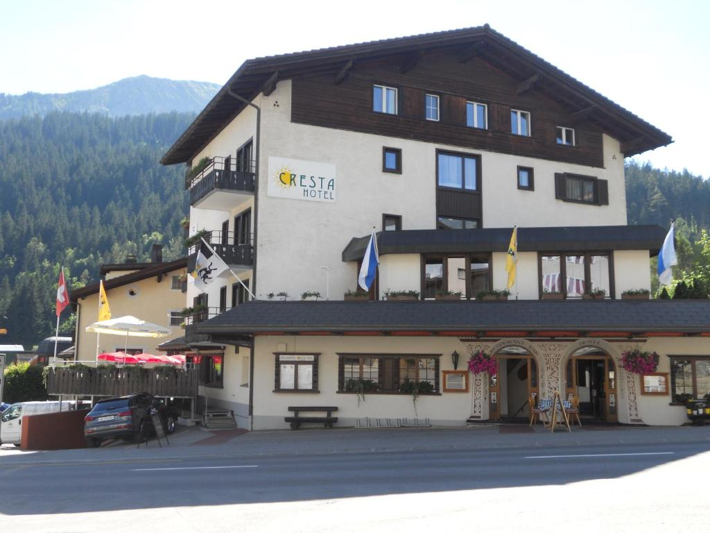 Cresta Hotel im Winter