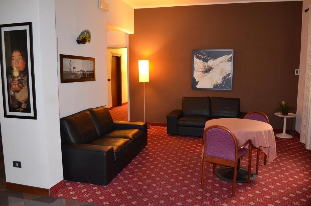 Area soggiorno di Hotel Adria