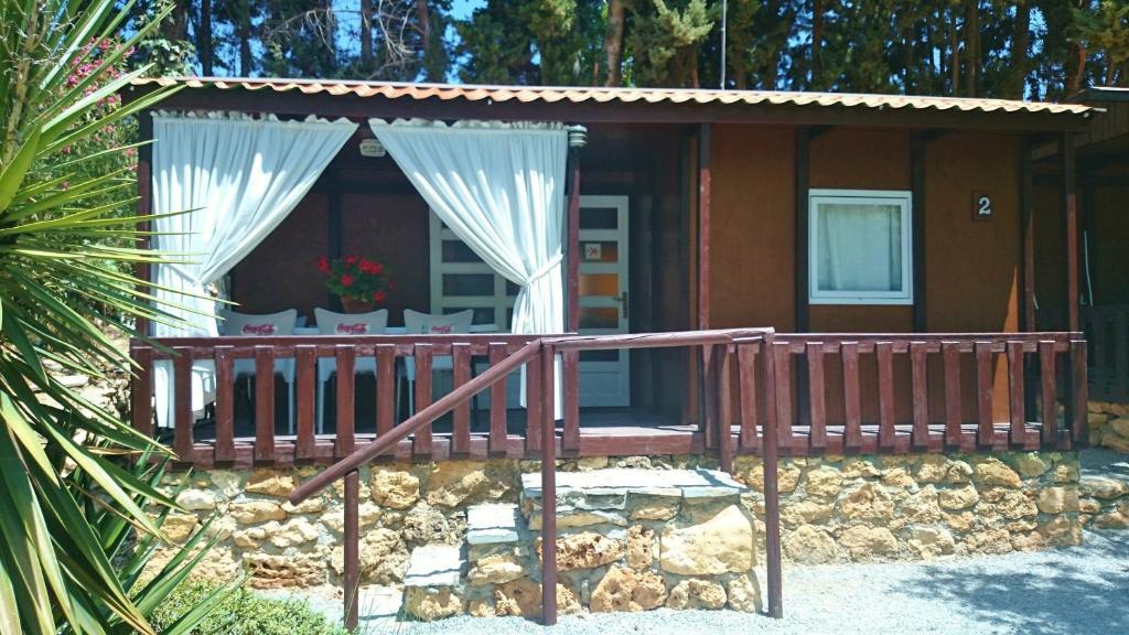 Camping & Bungalows Suspiro del Moro in de winter