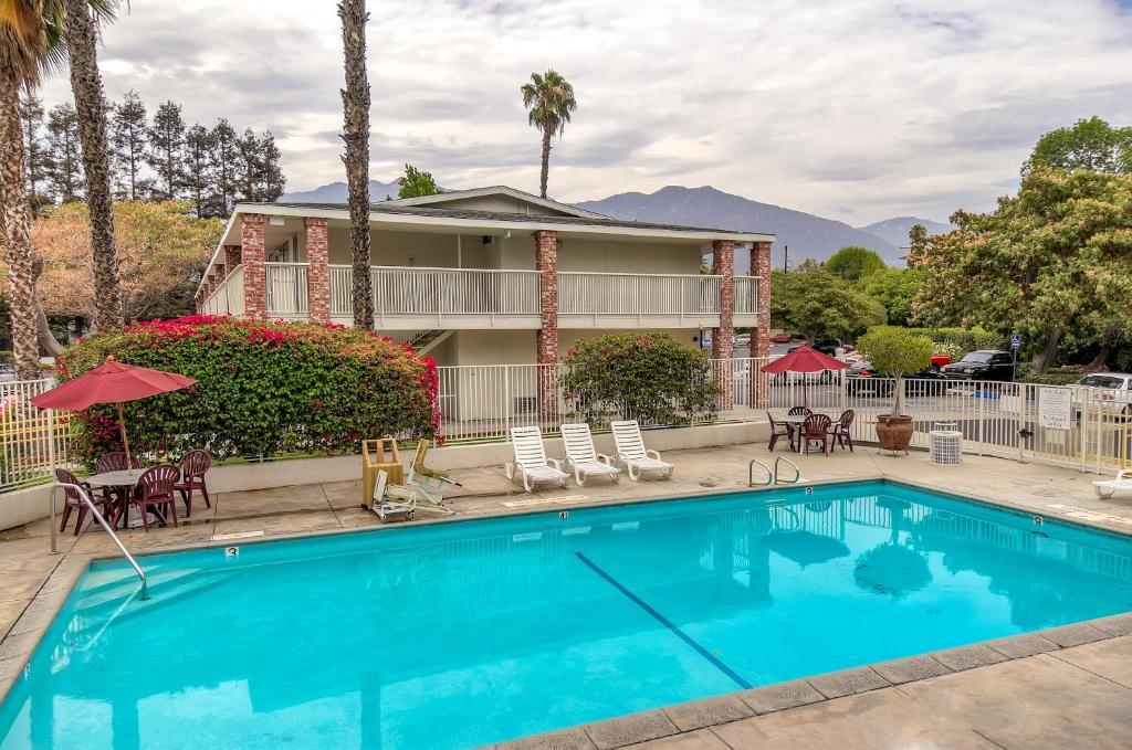 The Motel 6 Arcadia, CA - Los Angeles - Pasadena Area.