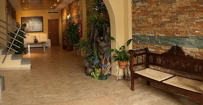 The lobby or reception area at Hotel Rural Miguel Angel