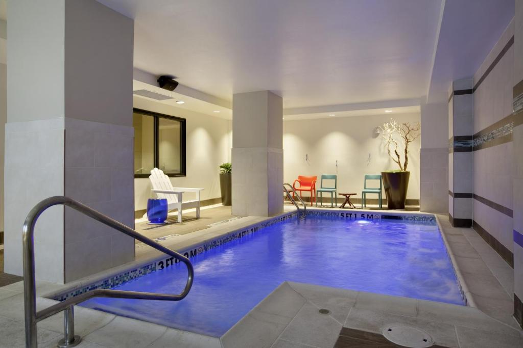 The swimming pool at or near Home2 Suites by Hilton San Antonio Downtown