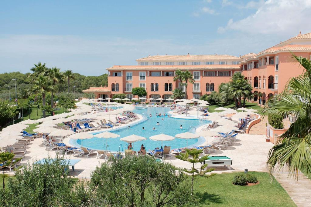 A view of the pool at Grupotel Macarella Suites & Spa or nearby