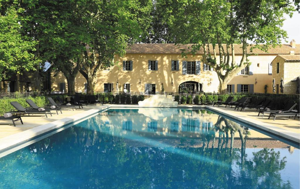 The swimming pool at or near Domaine De Manville