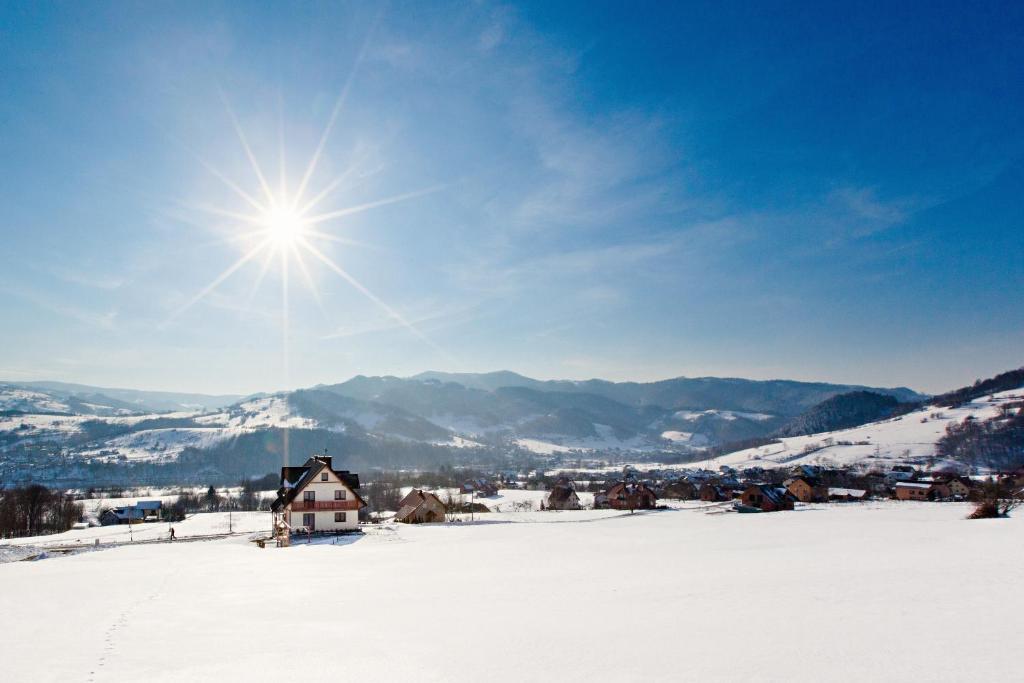 Obiekt Villa Apia zimą