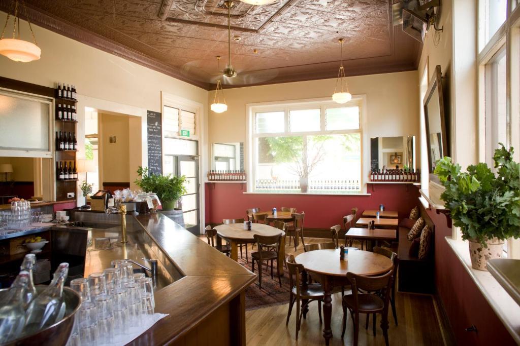 Restavracija oz. druge možnosti za prehrano v nastanitvi Healesville Hotel