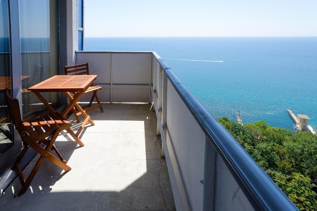 Балкон или терраса в Санаторий Актер