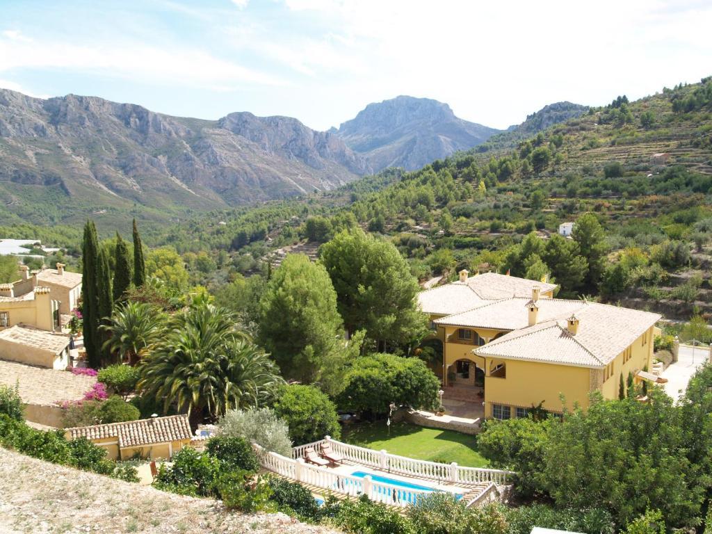 Vista de la piscina de Hotel Villa Lehmi o alrededores