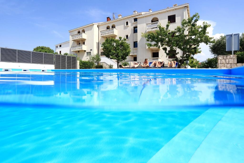 The swimming pool at or near Hotel Mediteran