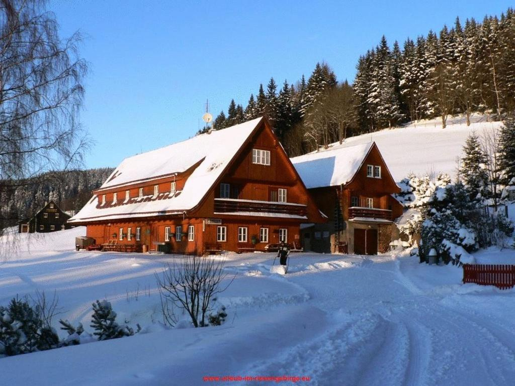 Pension U Wondracku v zimě