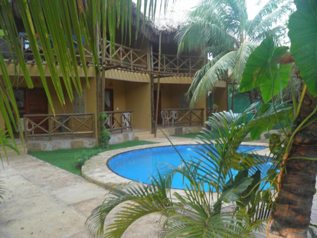 The swimming pool at or close to Pousada Kite Cabana