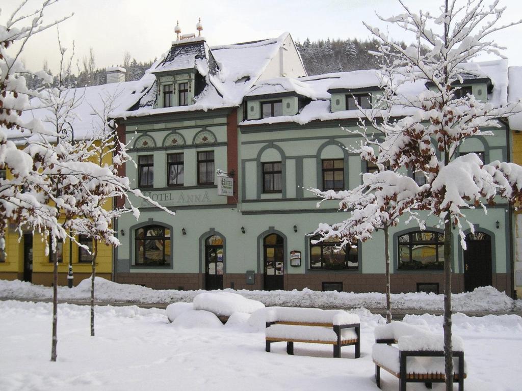 Hotel Anna Nejdek v zimě